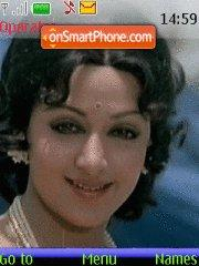 Hema Malini theme screenshot