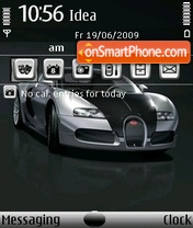 Bugati Veron Pur Sung theme screenshot