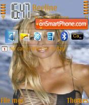 Pamela Anderson 01 theme screenshot