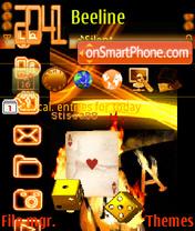 NokiaGold Card es el tema de pantalla