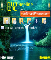 Waterfall 03 theme screenshot
