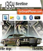 Zibit Car es el tema de pantalla