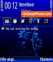 DeepBlue FP2 Icon es el tema de pantalla