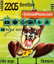 Скриншот темы Taz2