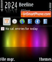 Spectrumtouch theme screenshot