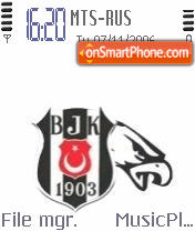 Besiktas BJK Logo theme screenshot