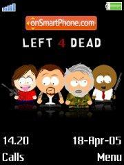 Left 4 Dead 01 es el tema de pantalla