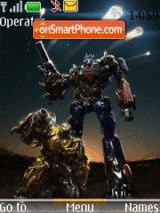 Transformers 05 theme screenshot