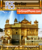 Golden Temple 01 theme screenshot