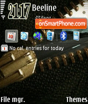 Zip theme screenshot