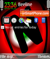 Nokialino Theme 01 theme screenshot