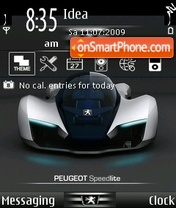 Peugeot speedlite theme screenshot
