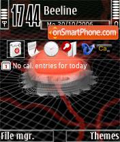 Capture d'écran Ciber Heart thème