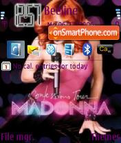 Madonna Tour theme screenshot