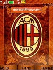 Milan 2008 theme screenshot