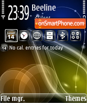 NokialinoTheme theme screenshot