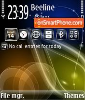 Скриншот темы NokialinoTheme