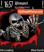 Скриншот темы Skulls V3