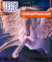 Winged Horsy es el tema de pantalla