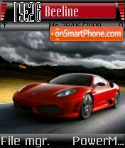 Ferrari F430 07 es el tema de pantalla