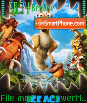 Ice Age 3 06 theme screenshot