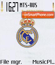 Real Madrid 2007 theme screenshot