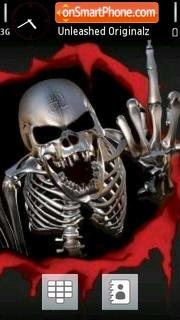 Скриншот темы Skulls V3 01
