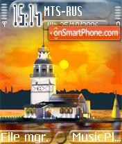 Kiz kulesi Istanbul es el tema de pantalla