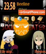 Soul Eater 02 theme screenshot
