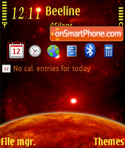 Red Planet 3rd tema screenshot