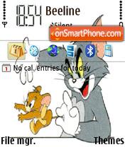 Скриншот темы Tom And Jerry 06