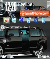 Animation hummer theme screenshot