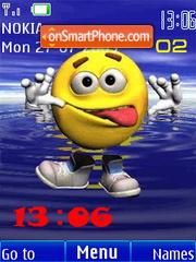 Swf smile animated Theme-Screenshot