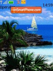Sailing theme screenshot