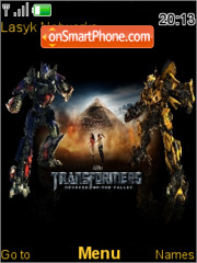 Transformers 2 theme screenshot