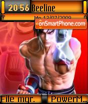 Jin Kazama 01 es el tema de pantalla
