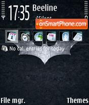 Capture d'écran Bat Logo thème