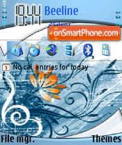 Designs theme screenshot