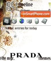 Скриншот темы Prada 01