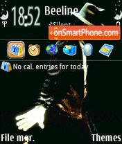 Tribute Michael theme screenshot
