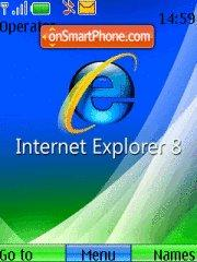 Internet explorer 8 theme screenshot