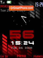 Xpress 5800 Red theme screenshot