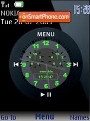 Capture d'écran I-pod SWF thème
