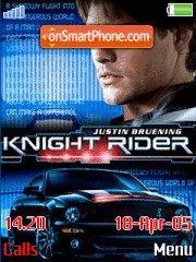 Knight Rider K.I.T.T. 2.0 tema screenshot