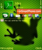 Green Frog theme screenshot