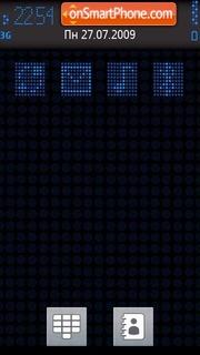 Blue Luminence theme screenshot