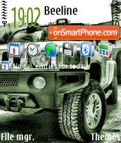 Скриншот темы Hummer 06