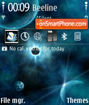 Space 09 theme screenshot