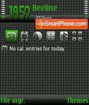 Technogreen theme screenshot
