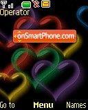 Colorfull Hearts es el tema de pantalla